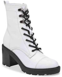 Marc Fisher - Lanie Combat Boot - Lyst