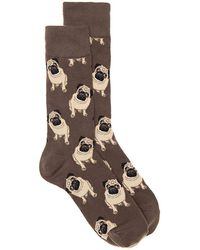 Socksmith - Pugs Crew Socks - Lyst