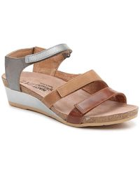 Naot - Goddess Wedge Sandal - Lyst