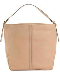 Cole Haan - Julianne Leather Hobo Bag - Lyst