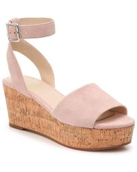 b59ba4b881 Marc Fisher - Rillia Wedge Sandal - Lyst