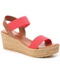 Andiamo Noel Wedge Sandal - Pink