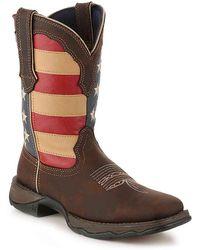 Durango - Patriotic Cowboy Boot - Lyst