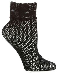 Jessica Simpson - Lace Ankle Socks - Lyst