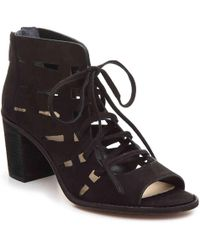 fb8740f48c6f Lyst - Vince Camuto Tressa Perforated Lace-up Sandal
