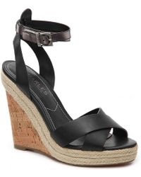 Charles David - Brit Wedge Sandal - Lyst