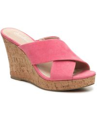 Charles David - Latrice Wedge Sandal - Lyst