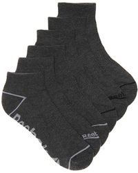 Reebok - Quarter Ankle Socks - Lyst