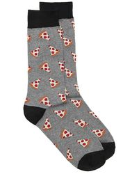 K. Bell - Pizza Dress Socks - Lyst