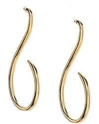 Vince Camuto - Curve Drop Earrings - Lyst
