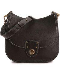 Lauren by Ralph Lauren - Millbrook Convertible Leather Shoulder Bag - Lyst