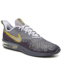 new products fca4a 2822f Nike - Air Max Sequent 4 Lightweight Running Shoe - Lyst