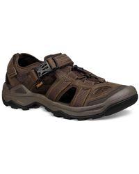 aba0ec7a57e2d8 Teva - Omnium 2 Leather Fisherman Sandal - Lyst