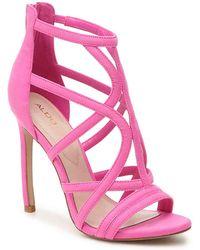 7af1dcb14e7 ALDO -   s Tifania Open Toe Sandals - Lyst