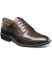Nunn Bush - Slate Wingtip Oxford - Lyst