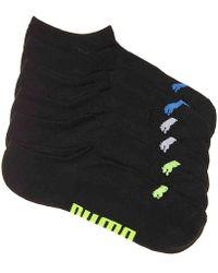 PUMA - Invisible No Show Socks - Lyst