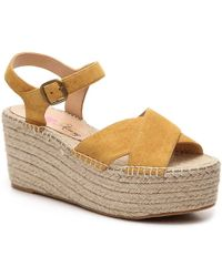 3a968df8955 Penny Loves Kenny - Friend Wedge Sandal - Lyst