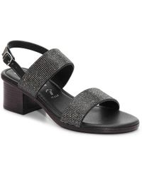 Italian Shoemakers - 2 Band Sandal - Lyst
