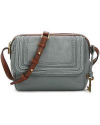 Fossil | Aria Leather Crossbody Bag | Lyst