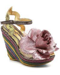 Irregular Choice - Weaver Espadrille Sandal - Lyst