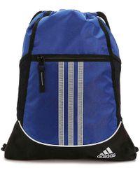 8a4f9a94124f Lyst - adidas Originals Alliance Ii Sackpack in Metallic for Men