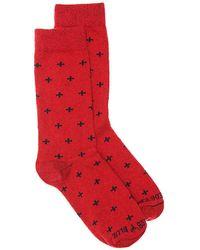 United By Blue - Cross Bartrams Dress Socks - Lyst