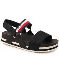 1161fefce Lyst - Women s Tommy Hilfiger Flat sandals On Sale