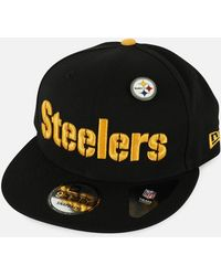 Pittsburgh Steelers Training 39thirty Cap.  32. Macy s · KTZ - Nfl  Pittsburgh Steelers 2018 Draft 9fifty Snapback Hat - Lyst 7fc0df646