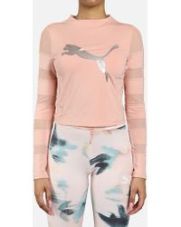 PUMA - Explosive Strapped Top - Lyst