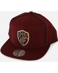 b8ea465cfff Mitchell   Ness - Nba Cleveland Cavaliers Basic Link Snapback Hat - Lyst