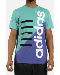 2cd45f77bf adidas - Commercial Tee - Lyst