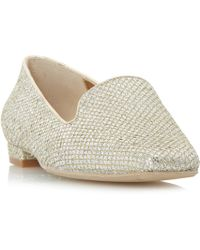 Dune | Gracious Square Toe Loafers | Lyst