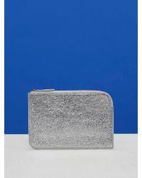 Diane von Furstenberg - Metallic Medium Zip Pouch - Lyst