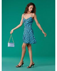 Diane von Furstenberg - The Dvf Loxie Mesh Dress - Lyst