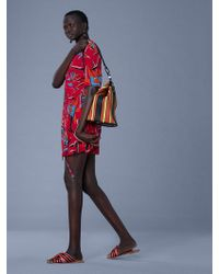 Diane von Furstenberg - New Savilla Woven Wrap Dress - Lyst