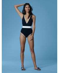 Diane von Furstenberg - Belted Cheeky One-piece - Lyst