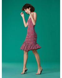 Diane von Furstenberg - The Dvf Louie Mesh Dress - Lyst