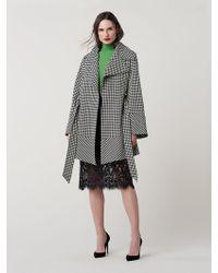 Diane von Furstenberg - Ember Oversized Coat - Lyst