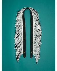 Diane von Furstenberg - Fringe Strap Accessory - Lyst