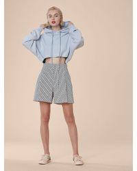 Diane von Furstenberg - High-waisted Shorts - Lyst