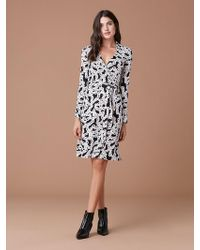 Diane von Furstenberg - New Jeanne Two Silk Jersey Wrap Dress - Lyst