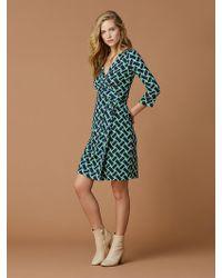 0925f7c00055 Diane von Furstenberg - New Julian Two Silk Jersey Dress - Lyst