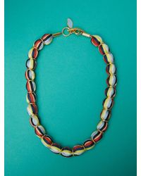 Diane von Furstenberg - Glass Beaded Necklace - Lyst