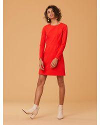 Diane von Furstenberg - Long Sleeve Capreena Dress - Lyst