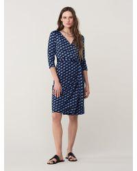 Diane von Furstenberg - New Julian Two Silk-jersey Wrap Dress - Lyst
