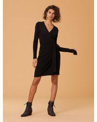 Diane von Furstenberg - New Linda Knit Wrap Dress - Lyst