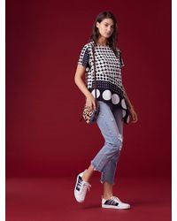 Diane von Furstenberg - Levi's Wedgie Straight Jeans - Lyst