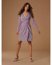 Diane von Furstenberg - The New Jeanne Silk Jersey Wrap Dress - Lyst