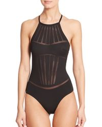 La Perla One-Piece Dunes Swimsuit - Lyst
