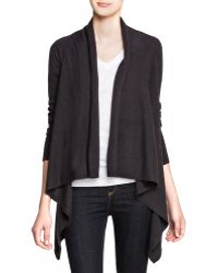 C By Bloomingdale's   Cashmere Basic Open Cardigan   Lyst